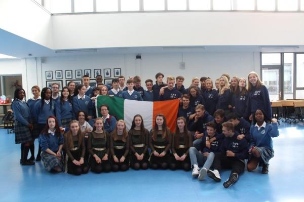 German students visit Ardgillan