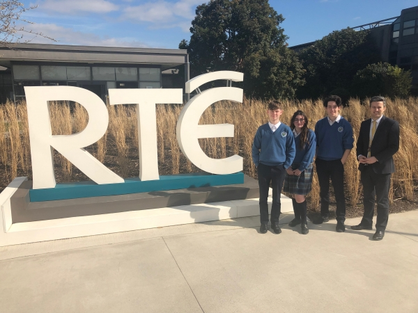 School Digital Champions Site Visit to RTE