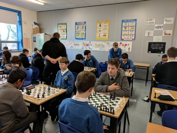 Ardgillan's First Competitive Chess Match