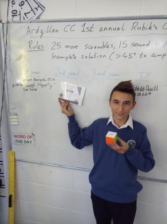 Rubik's Cube Champion (Maths Week)