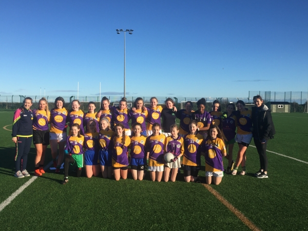 Girls GAA Quarter Final Win