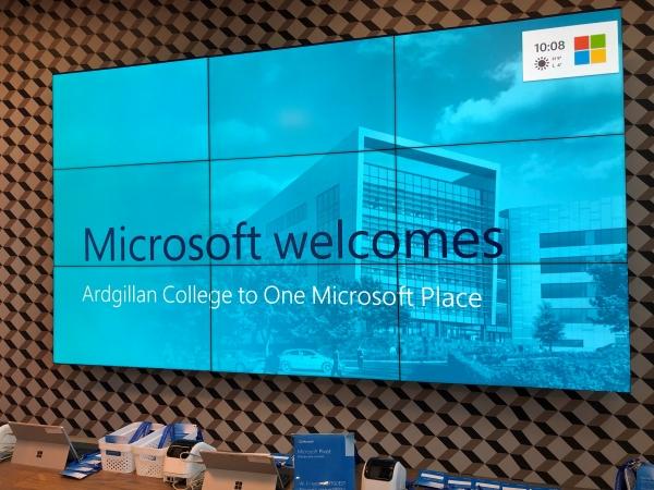 4R Trip to Microsoft Dreamspace