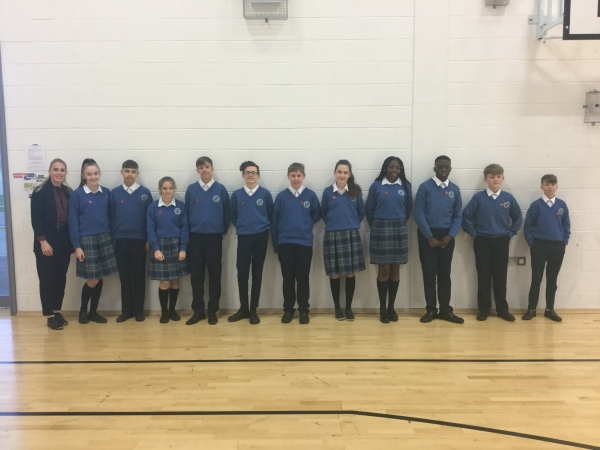 3rd Year Merit Winners (Term 1)