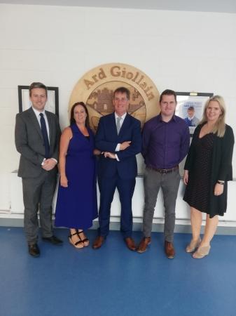New Management Team in Ardgillan