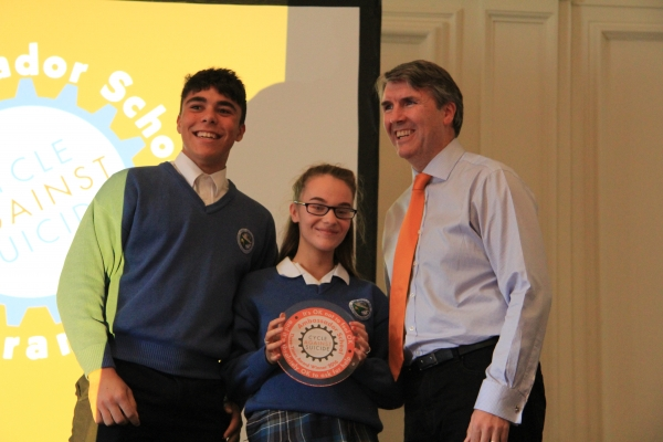 Cycle Against Suicide Ambassador Award
