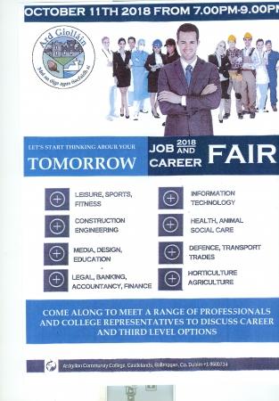 Careers Fair October 11th 2018